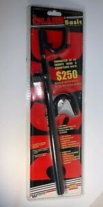 The Club 1234 Basic Club Steering Wheel Lock Fit For Cars Light Trucks Black