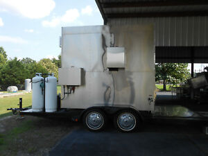 Southern Pride Xlr 1600 4 Mobile Smoker Pit On A Trailer