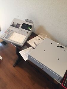 Casio Tk 6000 Electronic Cash Register With Cash Drawer manual keys free Ship