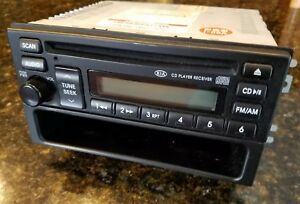 2003 2004 2005 2006 Kia Sorento Oem Cd Player Am Fm Radio A02028a 96140 3e201