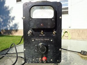 Vintage Ballantine Laboratories Electronic Voltmeter Model 310a