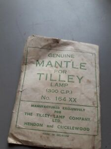 Collectable Packet Genuine Mantle For Tilley Lamp
