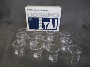 Pyrex Corning Griffin Beaker 50 Ml Graduated Case Of 12 Nos Dl