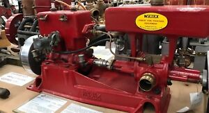 Antique Vintage Wajax Forestry Fire Pump 1930 41 Circa