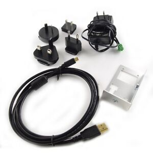 Vu8 Starter Kit For Usb serial can cables Power Supply And Bracket