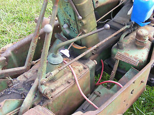 Antique John Deere M 40 420 430 Crawler Dozer Hydraulic Valve Linkage