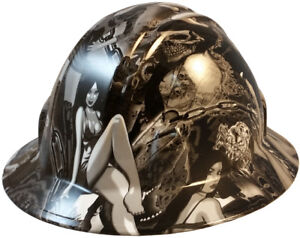 Wild side dream Girls Hydro Dipped Safety Fb And Cs Hard Hats