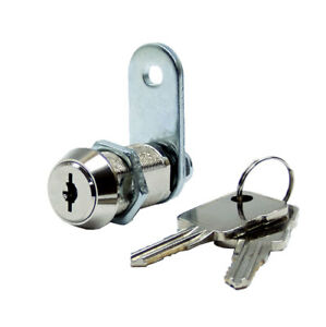 High Security Dual Mechanism Cam Lock With 1 1 8 Cylinder 2 Pack