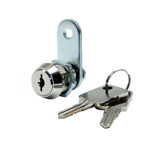 High Security Dual Mechanism Cam Lock With 5 8 Cylinder 2 Pack