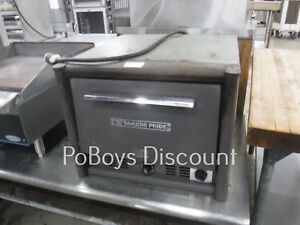 Bakers Pride Counter Top Double Deck Ceramic Insert Electric Pizza Oven