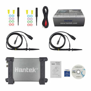 Hantek 20 50 80 100 200mhz 2ch Digital Storage Usb Pc Oscilloscope 48 250msa s