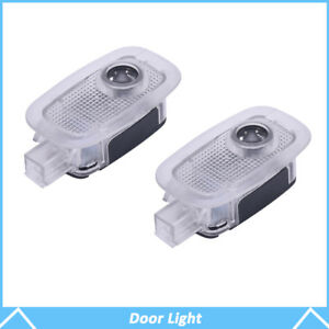 2x Shadow Led Door Logo Courtesy Laser Projector Light For Mercedes Benz S350