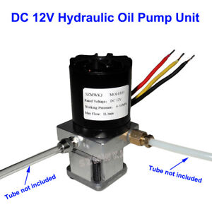 Single Acting 12v Hydraulic Oil Pump Power Pack Unit For Dump Trailer Auto Lift
