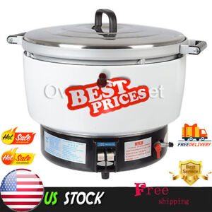 Natural Gas Commercial Rice Cooker 50 Cups 10l Capacity 2 8kpa