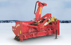 87 3 point Pull type Meteor Snow Blower With Skid Shoes Hyd Chute Rotation