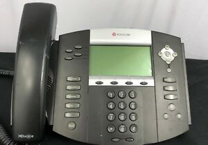 Lot Of 40 Polycom Ip550 Soundpoint Voip Business Telephone W Stand Handset Qty