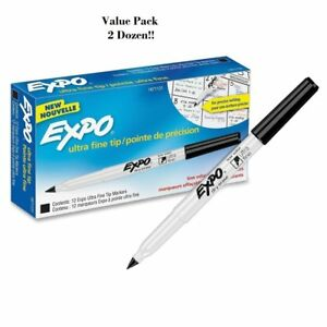 Expo Ultra Fine Point Dry Erase Markers Ultra Fine Marker Point Type 2 Boxes