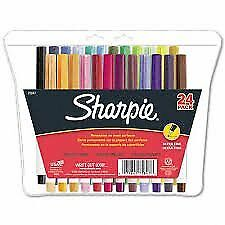 Sharpie Ultra Fine Assorted 24 Ct 2 Pack