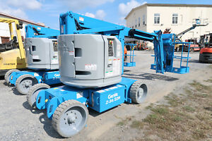 Genie Z34 22n Manlift 34 Articulating Boom Lift Electric Jlg E450 Aerial