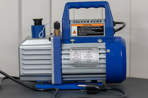 Professional Vacuum Pump 3cfm 1 4hp Model Stark 71096 Brand New