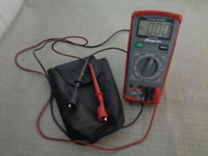 Snap on Manual Ranging Digital Multimeter Eedm503d