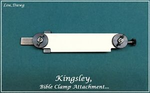 Kingsley Machine Bible Clamp Attachment Hot Foil Stamping