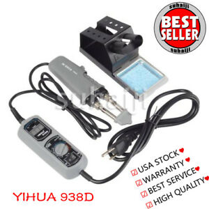 Yihua 938d Portable Hot Tweezers Mini Soldering Station For Bga Smd Us