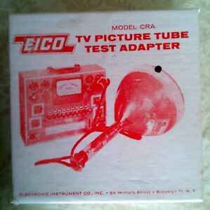 Eico Cra Picture Tube Testing Cable For 625 And 667 Tube Testers
