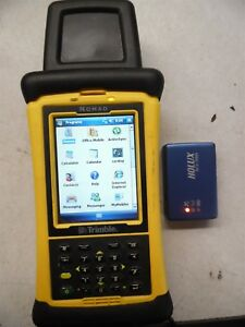 Trimble Nomad 900 Data Collector Egl myngebb2 With Holux Rcv 3000 Data Module