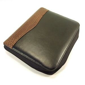 Franklin Covey Classic Faux Leather Vegan Planner Zipper Binder