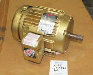 Baldor 2hp Super e Electric Motor