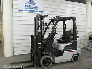 2012 Nissan Cf50 5 000 Cushion Tire Forklift Lpg 3 Stage S s 7fgcu25 Nice