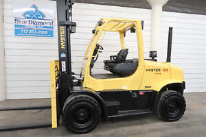 Hyster H155ft 15 500 Diesel Pneumatic Tire Forklift Fork Positioner Gdp155