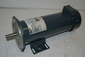 Boston Gear Pm18100btf 5 8 i Variable Speed Dc Motor 50426 180vdc 1hp 1725rpm