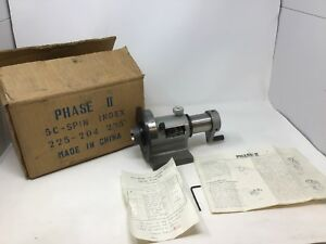 5c Spin Index Fixture Phase Ii Model 225 204 Never Used