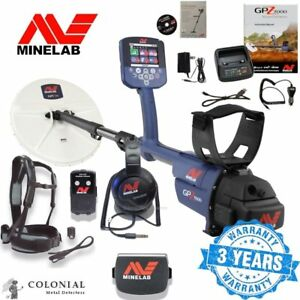 Minelab Gpz 7000 Metal Detector Gold Prospecting Free Shipping