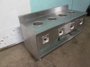 randell H d Commercial S s 68 w 4 Wells Hot Soup Serving Station 120v 1ph