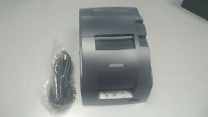 Epson Tm u220b Receipt Kitchen Printer Power Plus Interface With Power Supply
