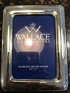 Vintage Wallace Silversmiths Sterling Silver Picture Frame