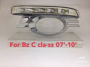 Led Daytime Running Light lamp Drl For Benz C class W204 2006 2010