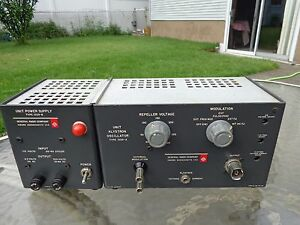 Vintage General Radio Company Unit Klystron Oscillator Type 1220 a Power Unit