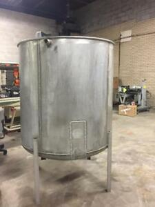 Stainless Steel Tank 375 Gal Distillery Winery Cidery