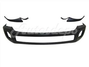 Front Bumper Black Face Bar Outer Molding Pad Ford Super Duty F250 F350 2011 16