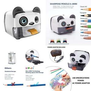 Electric Pencil Sharpener heavy Duty Helical Blade Sharpeners For Kids Artists C