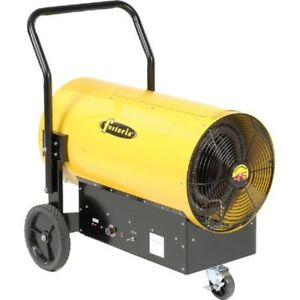 New Salamander Heater Portable Electric 45kw 480v 3 Phase Yellow