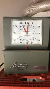 Vintage Lathem Time Clock Model 4000 Series