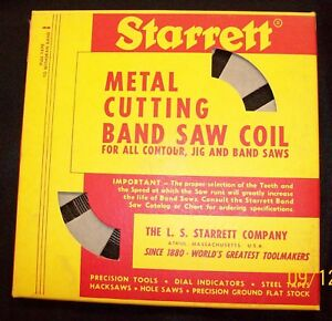 Starrett Metal Cutting Band Saw Coil 100 Ft 18 Teeth Per Inch
