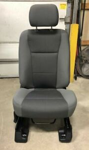 17 18 19 Ford F250 F350 Superduty Truck Gray Cloth Rh Passenger Side Bucket Seat