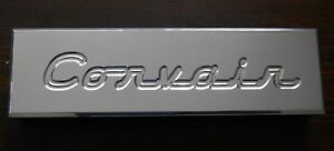 Billet Aluminum Battery Hold Down Corvair Script Fits Corvair One Off