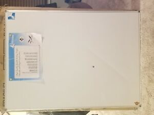 Lockways Magnetic Dry Erase Board White Board 48 X 36 Whiteboard 3 X 4 Feet